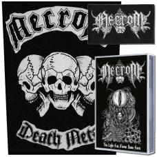 Necrom (Tape, Back Patch, Patch) Bundle