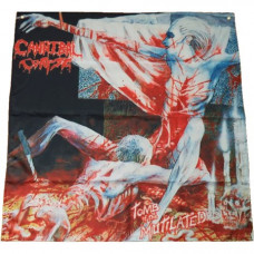 CANNIBAL CORPSE - Tomb Of The Mutilated Flag