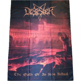 DESASTER - The Oath Of An Iron Ritual Flag