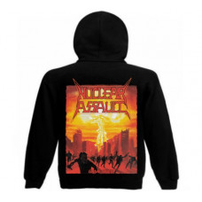 NUCLEAR ASSAULT - Game Over Hooded Sweat Jacket