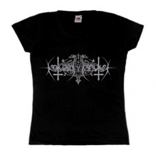 NOKTURNAL MORTUM - Голос Сталі / The Voice Of Steel Logo Lady Fit T-Shirt