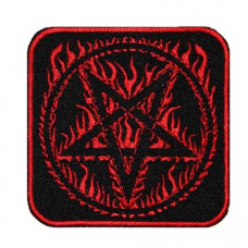 Pentagram (In Flame) Patch