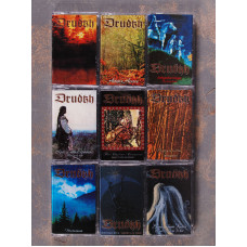 DRUDKH - Tape Collection (9xTapes Set)