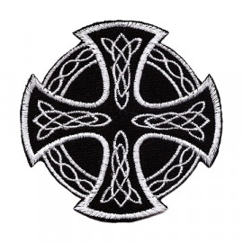 Celtic Cross With Arnament Patch