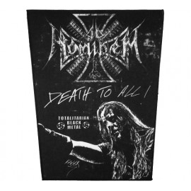 AD HOMINEM - Death To All Backpatch